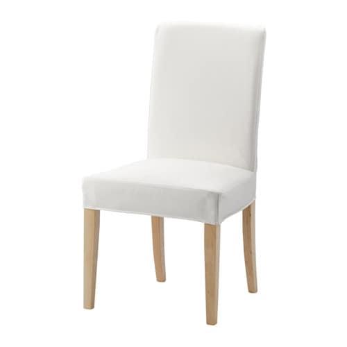 HENRIKSDAL Stuhl Gräsbo Weiß IKEA