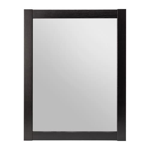 Herefoss spiegel schwarzbraun ikea for Spiegel 70x90