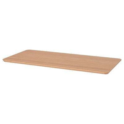 HILVER Tischplatte, Bambus, 140x65 cm