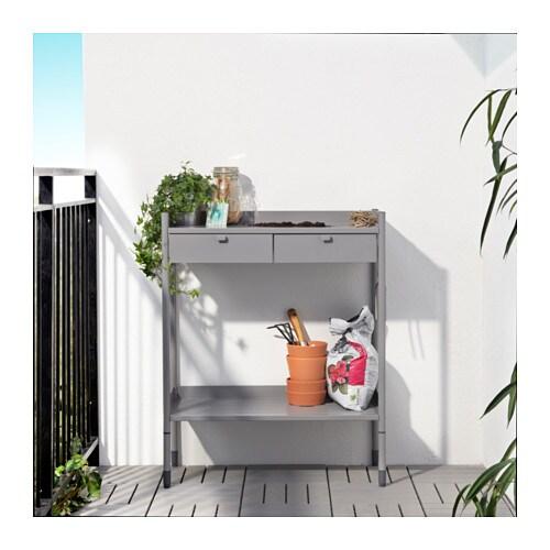 Hind pflanztisch ikea - Terrasse schrank ...