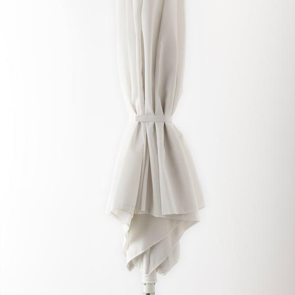 HÖGÖN Sonnenschirm, weiß, 270 cm