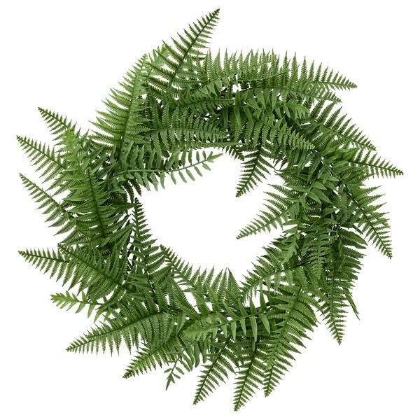 HÖSTKVÄLL Kranz künstl., drinnen/draußen/Farn grün, 45 cm