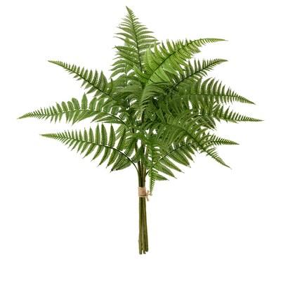 HÖSTKVÄLL Kunstblumenstrauß, drinnen/draußen/Farn grün, 44 cm