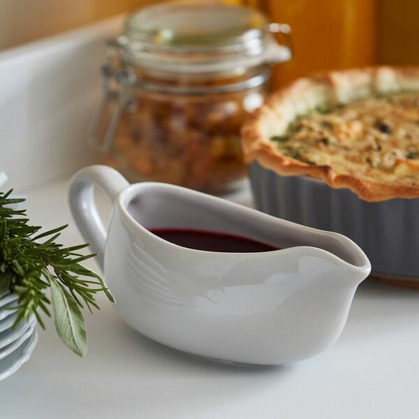 HÖSTKVÄLL Sauciere, grau, 48 cl