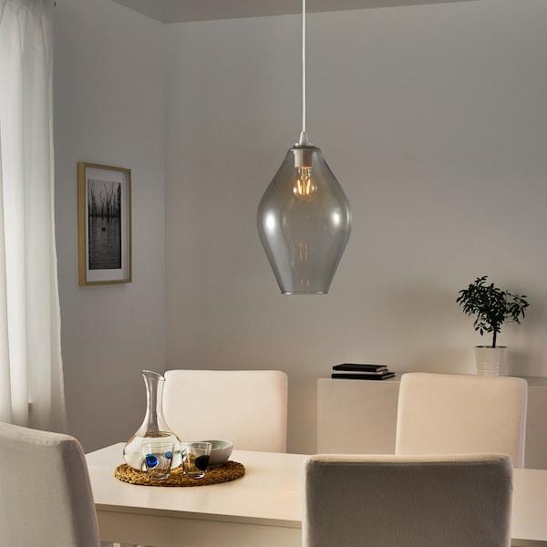 HOLMEJA Hängeleuchtenschirm, grau