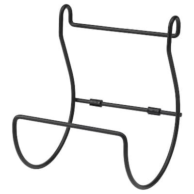 HULTARP Küchenrollenhalter, schwarz