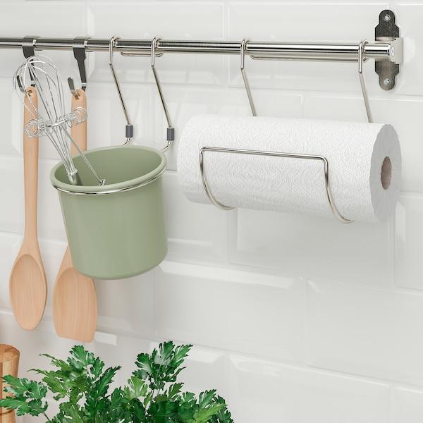 HULTARP Küchenrollenhalter, vernickelt