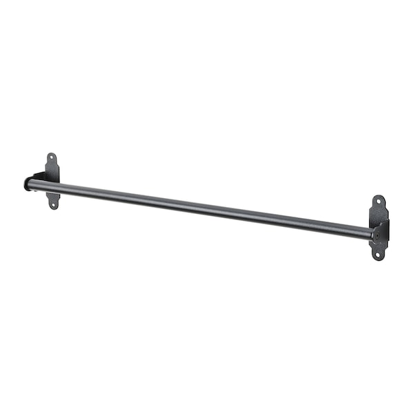 HULTARP Stange, schwarz, 60 cm