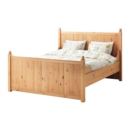 hurdal bettgestell 180x200 cm ikea. Black Bedroom Furniture Sets. Home Design Ideas