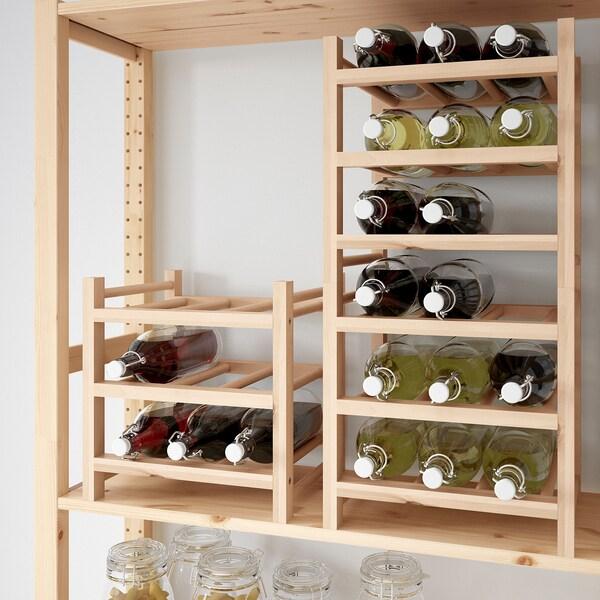 IKEA HUTTEN Flaschenregal für 9 flaschen