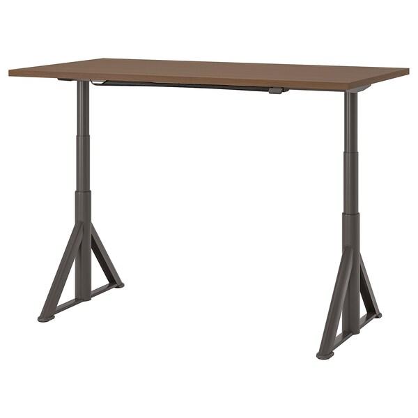 IKEA IDÅSEN Schreibtisch sitz/steh