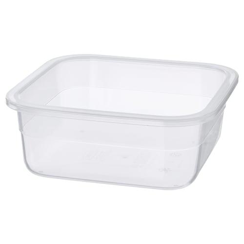 IKEA 365+ Behälter quadratisch/Kunststoff 15 cm 15 cm 6 cm 750 ml