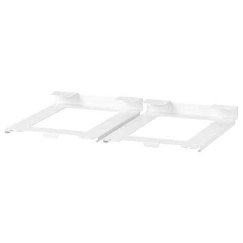 IKEA 365+ Dosenhalter weiß 15 cm 23 cm 3 cm 2 Stück