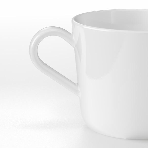 IKEA 365+ Becher, weiß, 24 cl