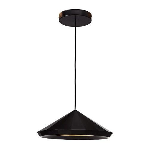 ikea ikea ps 2012 led h ngeleuchte schwarz 22 49 g nstiger bei. Black Bedroom Furniture Sets. Home Design Ideas