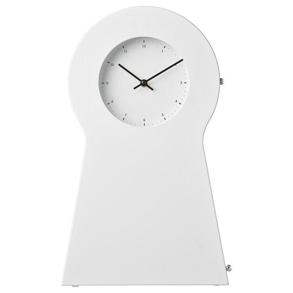 IKEA PS 1995 Uhr weiß 29 cm 15 cm 48 cm