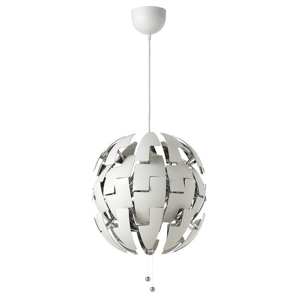 IKEA PS 2014 Hängeleuchte, weiß/silberfarben, 35 cm