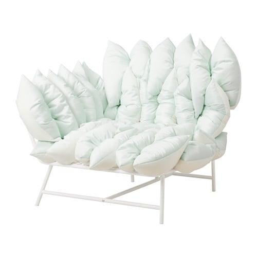 ikea ps 2017 ecksessel mit 18 kissen wei elfenbeinwei ikea. Black Bedroom Furniture Sets. Home Design Ideas