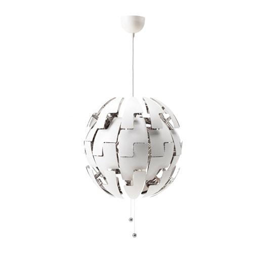 Ikea Ps 2014 Hängeleuchte Weiß Silberfarben Ikea