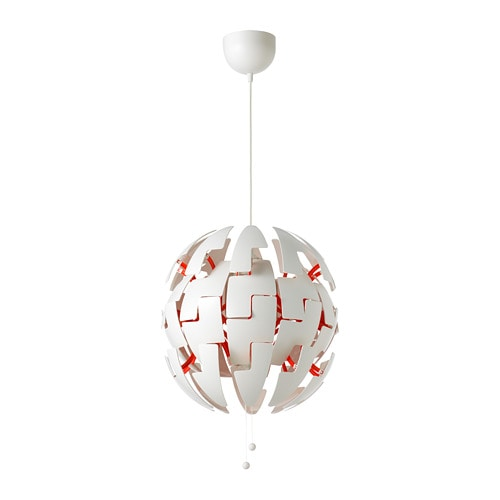 Ikea Ps 2014 Hängeleuchte Weiß Rot Ikea