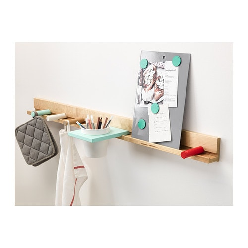 Ikea panneau d 39 affichage tableau memo aimants board for Tableau magnetique blanc ikea