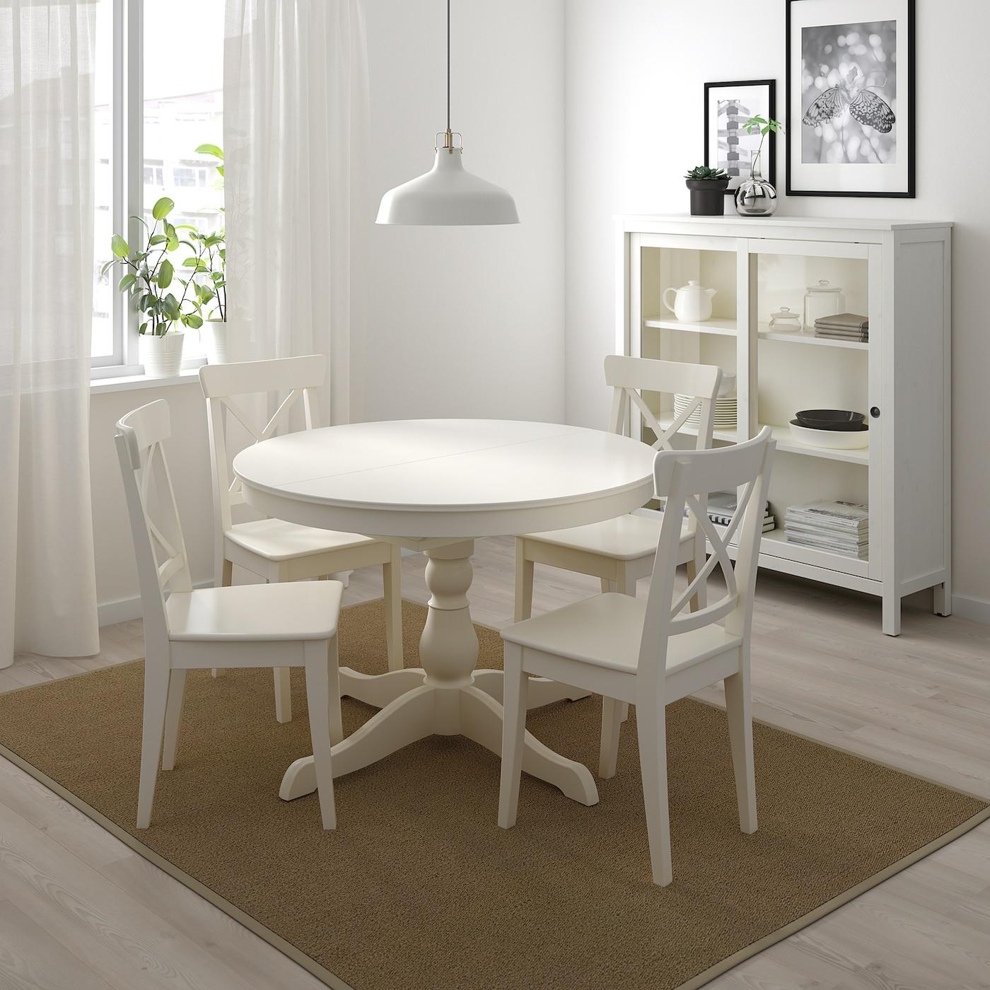 Ingatorp Ausziehtisch Weiss Hol Es Dir Hier Ikea Deutschland