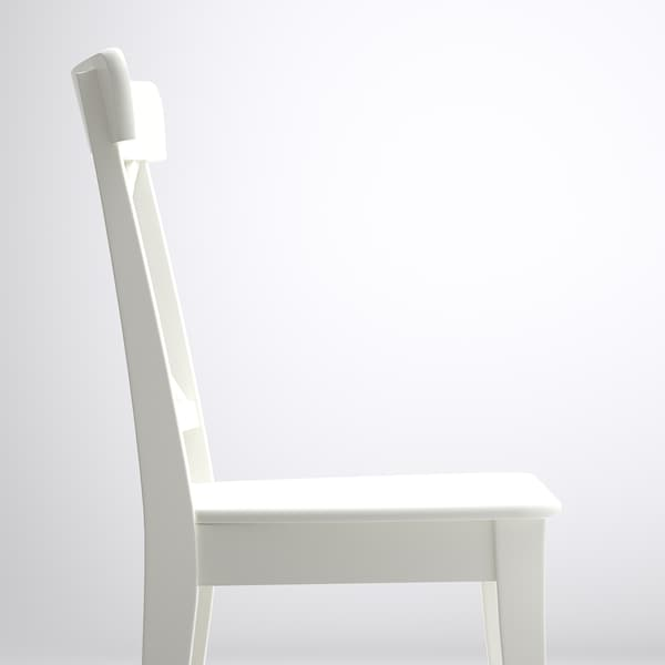 INGOLF Stuhl, weiß