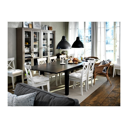 IKEA SEDIA DA CUCINA IN LEGNO Fattoria stile country bianco NUOVO ...