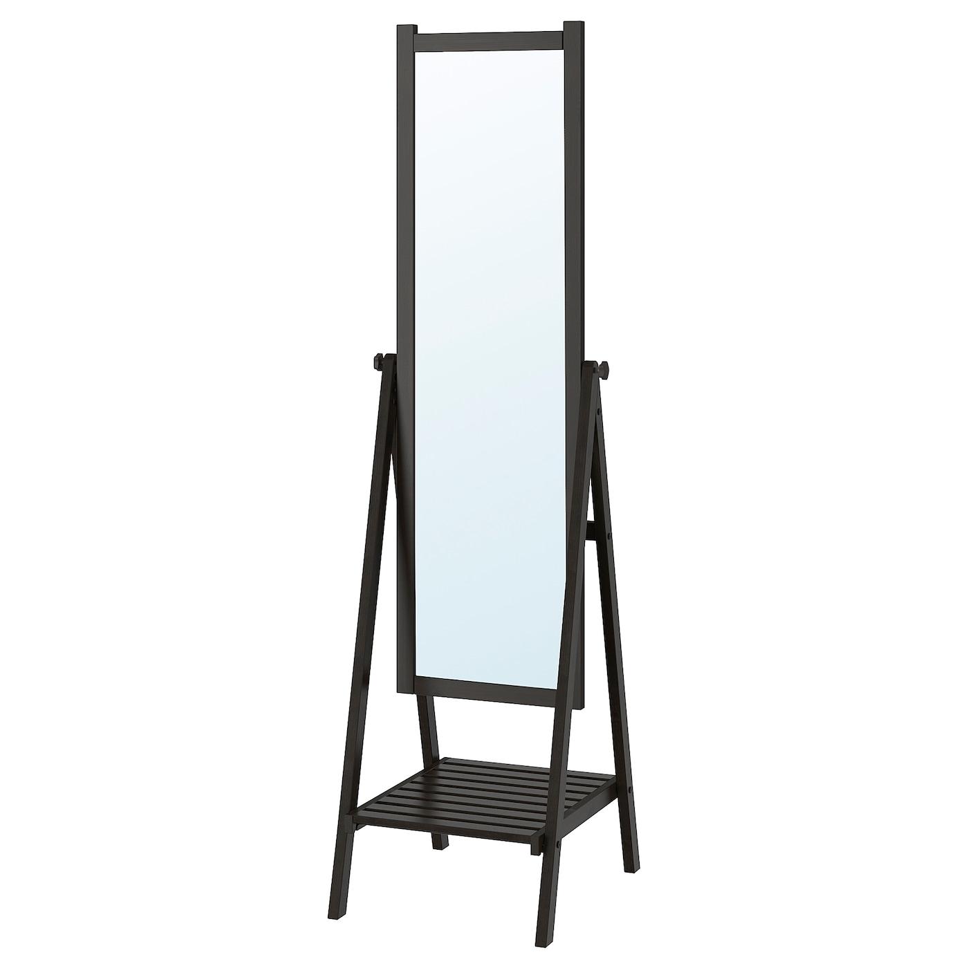 ISFJORDEN | Flur & Diele > Spiegel > Standspiegel | Schwarzbraun | IKEA
