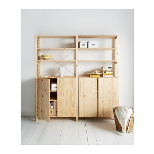 Ikea regalsystem ivar  IVAR 2 Elem/Böden/Schrank - 174x50x179 cm - IKEA