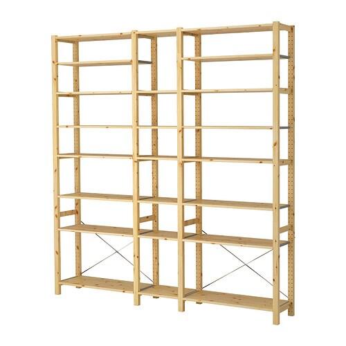 Ikea regalsystem ivar  IVAR 3 Elem/Böden - IKEA