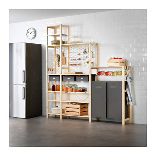 ivar sk dis 3 elem schrank kommode ikea. Black Bedroom Furniture Sets. Home Design Ideas