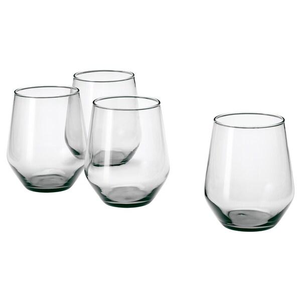 IVRIG Glas grau 11 cm 45 cl 4 Stück