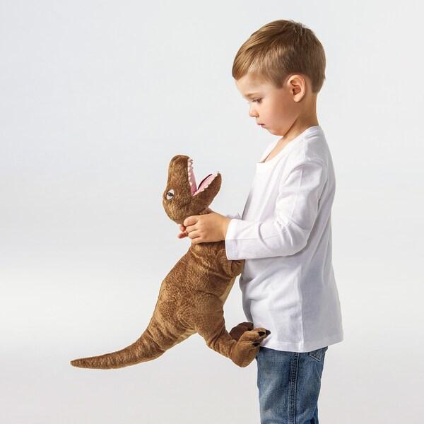 JÄTTELIK Stofftier, Dinosaurier/Dinosaurier/Velociraptor, 44 cm