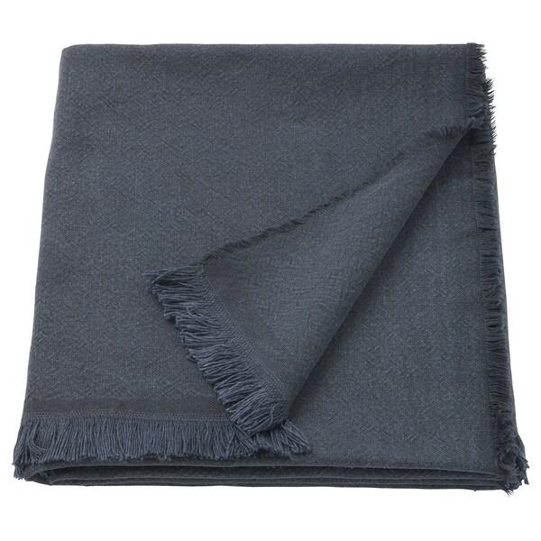 JOFRID Plaid, dunkel blaugrau, 150x200 cm