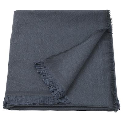 JOFRID Plaid dunkel blaugrau 200 cm 150 cm
