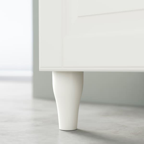KABBARP Bein, weiß, 10 cm