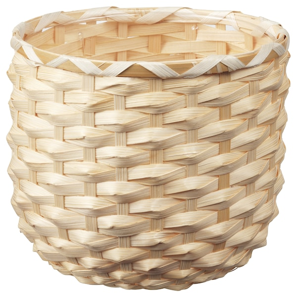KAFFEBÖNA Übertopf, Bambus, 15 cm