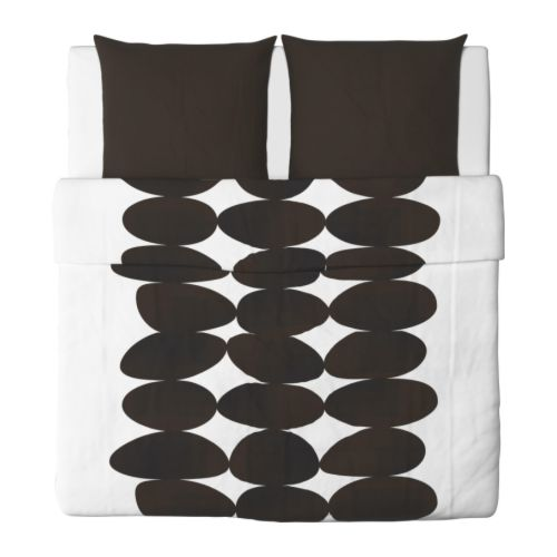 ikea bettw sche set 3 teilig kajsa sten 240x220 220x240. Black Bedroom Furniture Sets. Home Design Ideas