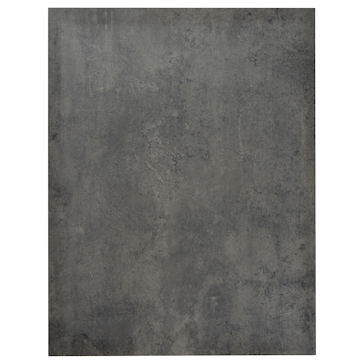 KALHYTTAN Deckseite, dunkelgrau Betonmuster, 62x80 cm
