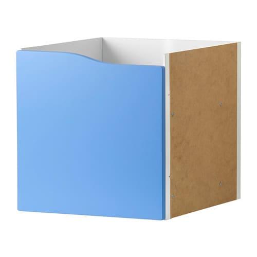 Kallax Einsatz Mit Tür Blau Ikea