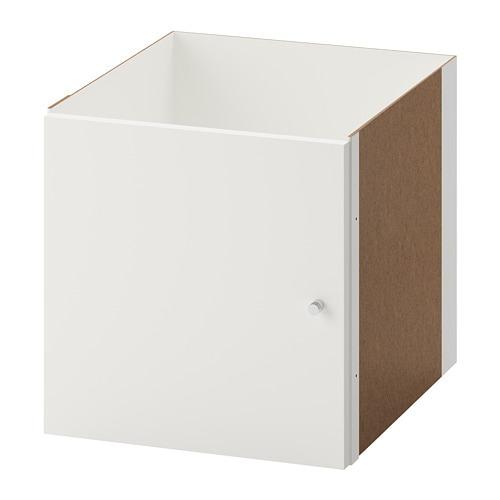 Kallax Einsatz Mit Tür Weiß Ikea