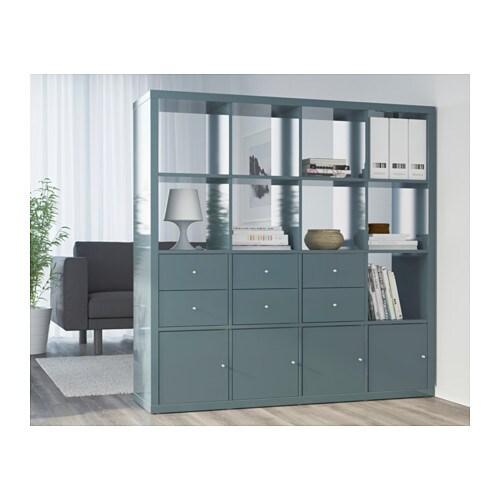 Ikea regal kallax einsatz  KALLAX Einsatz mit Tür - weiß - IKEA