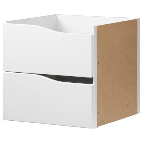 IKEA KALLAX Einsatz mit 2 schubladen
