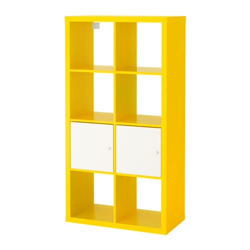 GroBartig KALLAX Regal Mit Türen   Weiß, 77x147 Cm   IKEA