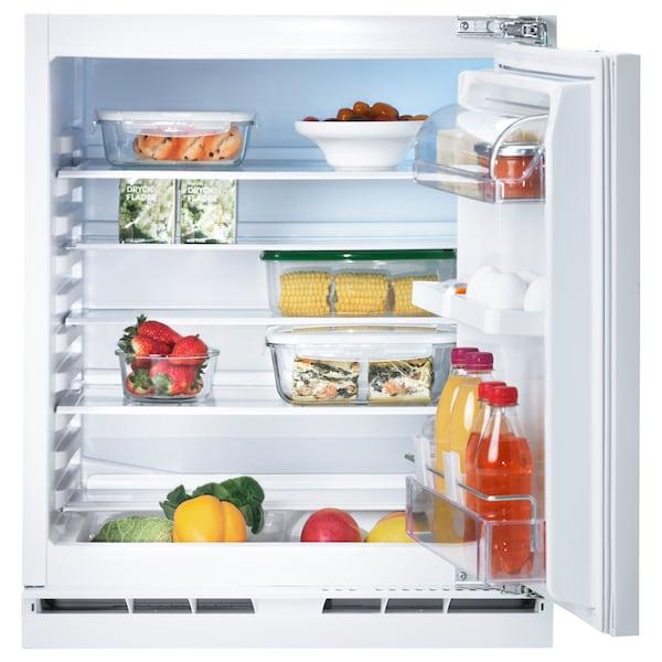 KALLNAT Einbaukühlschrank A++ weiß 59.7 cm 54.5 cm 81.9 cm 245 cm 144 l 31.88 kg