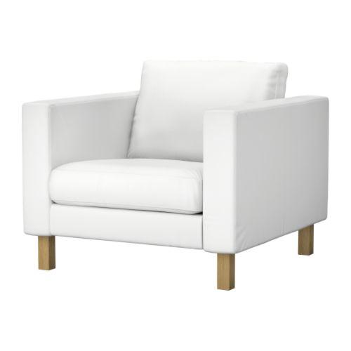 karlstad bezug sessel blekinge wei ikea. Black Bedroom Furniture Sets. Home Design Ideas