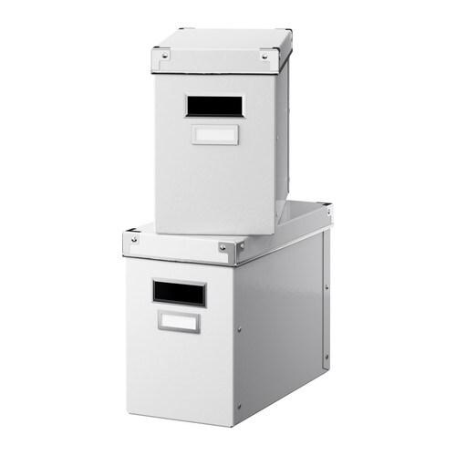 ikea kassett box mit deckel wei 18cm kiste korb. Black Bedroom Furniture Sets. Home Design Ideas