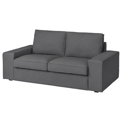 KIVIK 2er-Sofa, Skiftebo dunkelgrau