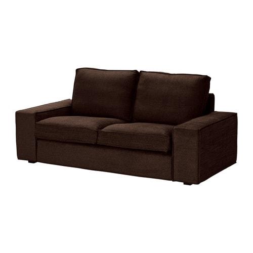 kivik bezug 2er sofa tullinge dunkelbraun ikea. Black Bedroom Furniture Sets. Home Design Ideas
